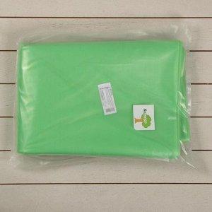 Плёнка полиэтиленовая, толщина 100 мкм, 3 ? 10 м, рукав (1,5 м ? 2), УФ, зелёная, 1 сорт, ГОСТ 10354-82, «Тепличная»