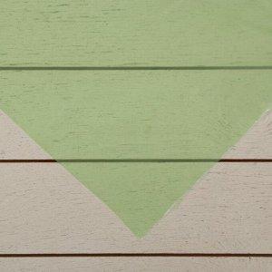 Плёнка полиэтиленовая, толщина 100 мкм, 3 ? 5 м, рукав (1,5 м ? 2), УФ, зелёная, 1 сорт, ГОСТ 10354-82, «Тепличная»