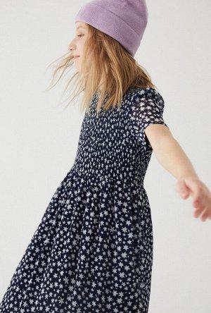 Платье детское для девочек Chaplet темно-синий