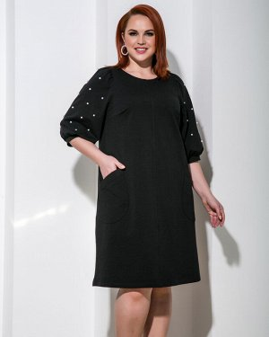 Платье 0218-1 черный