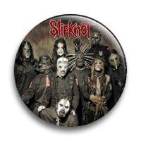 """Значок металлический закатный-""""Slipknot"""""""