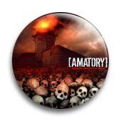 """Значок металлический закатный-""""Amatory"""""""