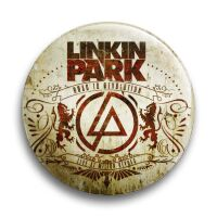 """Значок металлический закатный-""""Linkin Park"""""""