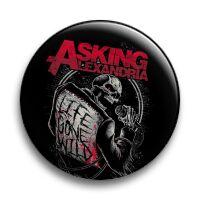 """Значок металлический закатный-""""Asking Alexandria"""""""