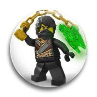 "Значок металлический-""LEGO Ninjago"""