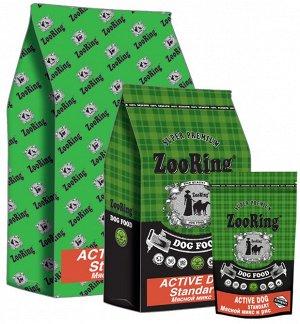 ACTIVE DOG STANDART Мясной микс (говядина и птица) для активных собак средних и крупных пород