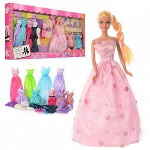 Кукла 8193 с одеждой в кор. Defa Lusy