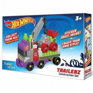 Констр-р Bauer 721  hot wheels серия trailerz Traker + Flint
