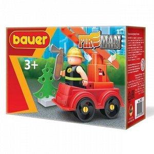 """Констр-р Bauer 737 """"Fireman"""" набор  пожарная машина"""