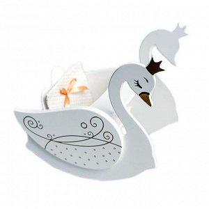 Стульчик для кормления с качалкой Изящный лебедь Shining Crown