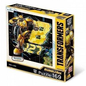 Пазл 169 Трансформеры Бамблби.Желтый Разведчик+магнит 04603 Origami