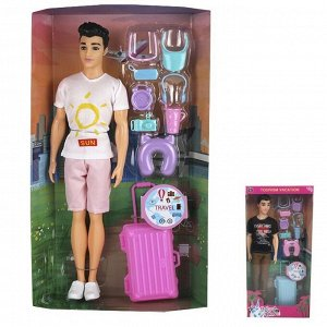 Кукла 528-BLY Кен путешественник в кор.