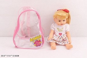Кукла 5511 Алина в рюкзаке