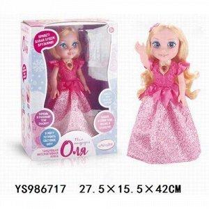 Кукла 69046 Оля интерактивная, танцует, поет, рассказ стихи и сказки, в кор.