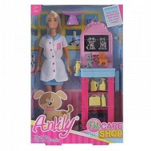 Кукла 99094 Anlily ветеринар с аксесс., в кор.