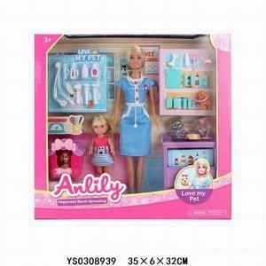 Кукла 99277 Anlily ветклиника в кор.