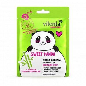 Маска для лица с экстрактом бамбука и соевым маслом sweet panda