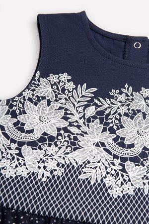 Платье Цвет: нежно-розовый; Вид изделия: Трикотажные изделия; Полотно: Супрем; Рисунок: нежно-розовый; Сезон: Весна-Лето Платье из хлопкового трикотажа супрем, отрезная юбка на сборке. Верхние слой ю