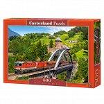 Пазл 500 Поезд на мосту В-52462 Castor Land