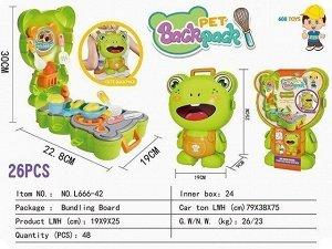 Игровой набор 666-42L Кухня в рюкзаке