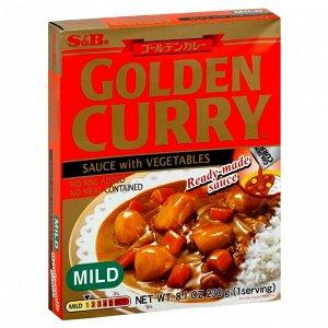 Соус S&B Голден Карри с овощами нежный к/к, 230 г /Япония/