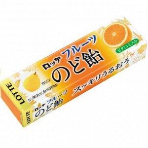 Леденцы со вкусом айвы, лимона и апельсина 10 шт, Lotte, 59,4 г СРОК ГОДНОСТИ ДО 31.07.2021