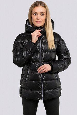 Черный Спортивный стиль понемногу начинает вытеснять классику с модных подиумов. Куртка укороченная весенне-осенняя, утеплитель-синтепух. Стеганая куртка прекрасно укроет от холода в непогоду, а образ