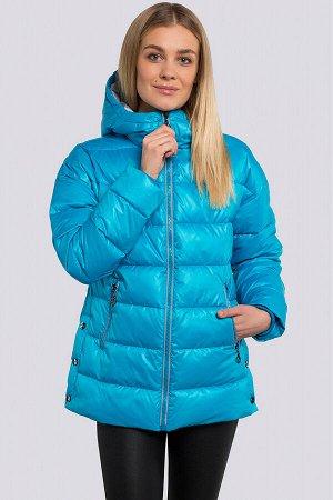 Бирюзовый Спортивный стиль понемногу начинает вытеснять классику с модных подиумов. Куртка укороченная весенне-осенняя, утеплитель-синтепух. Стеганая куртка прекрасно укроет от холода в непогоду, а об