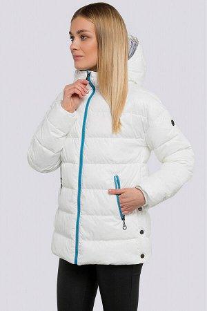 Белый Спортивный стиль понемногу начинает вытеснять классику с модных подиумов. Куртка укороченная весенне-осенняя, утеплитель-синтепух. Стеганая куртка прекрасно укроет от холода в непогоду, а образ