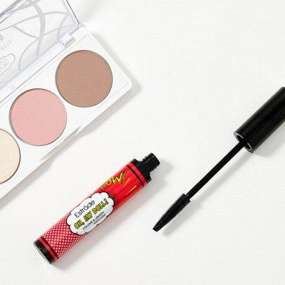 Мерцающий прозрачный блеск или красный глянец?❤️ — Набор косметики от ESTRADE: тушь + палетка 💥 — Косметические наборы