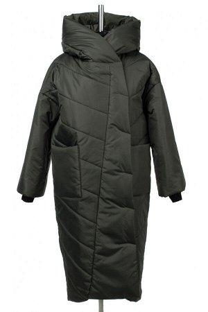 04-2762 Куртка демисезонная (синтепон 200) Плащевка темно-зеленый