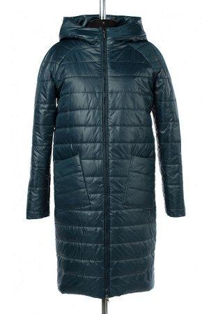 04-2702 Куртка демисезонная (Синтепон 150) Плащевка сине-зеленый
