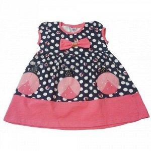 9009-2 Платье для девочек Baby Pink