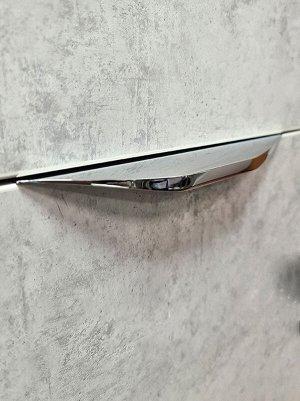 Ручка профиль 4399-192 хром (алюминий) .