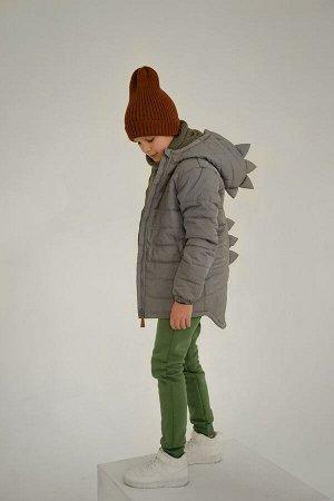 Куртка Дино Рефлект серый оригами скидка