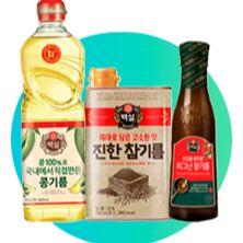 Полезные завтраки! Гранола, Иван-чай! Печенье без сахара! — !!!Масло Корея- оливковое, кунжутное, соевое ХИТ!!! 27 — Растительные масла