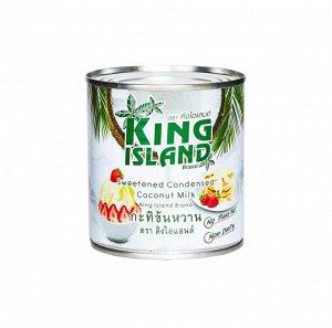 Сгущенное кокосовое молоко KING ISLAND,380 гр 1/24