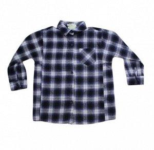 Рубашка Рубашка- приятная к телу , плотная на осень, свободного кроя длина -56 см  ширина- 45 см*2  рукава 40,5 см  плечи -35,5 см