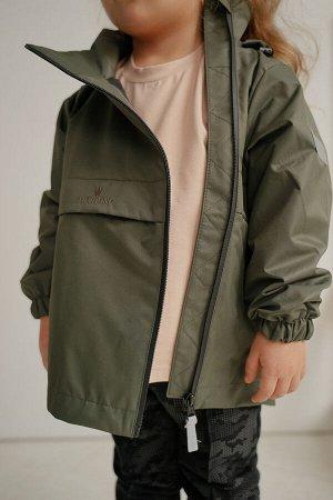 Куртка-ветровка анорак Хаки