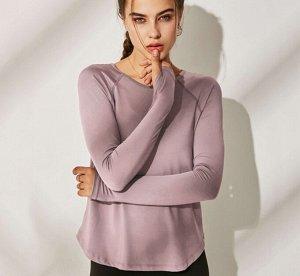Женская спортивная кофта, цвет розовый