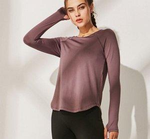 Женская спортивная кофта, цвет фиолетовый