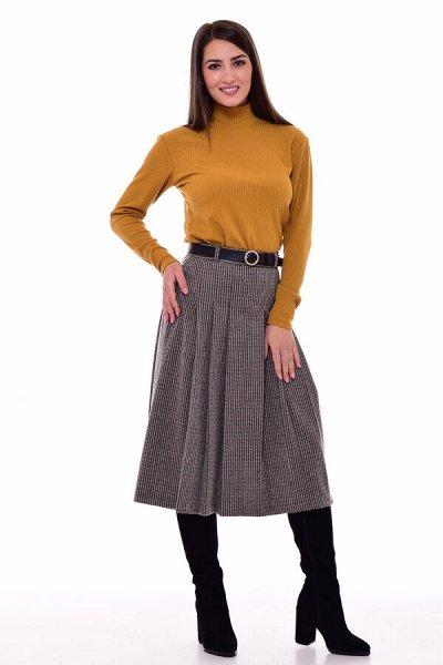 Новое Кимоно 2021   — Женский трикотаж. Юбки — Миди-юбки