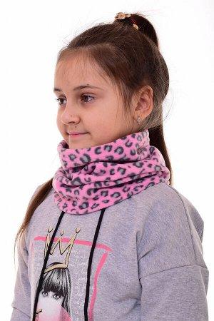Снуд подростковый 14-002д (розовый)