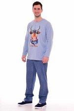 Пижама мужская 9-153 (голубой)