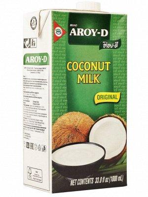 Кокосовое молоко AROY-D , 1л. Tetra Pak
