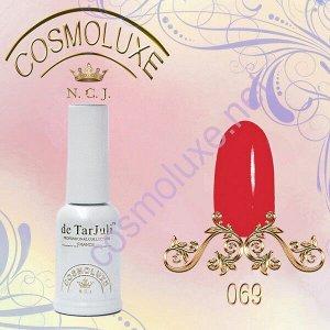 Гель-лак Cosmoluxe 10ml.#069 красный