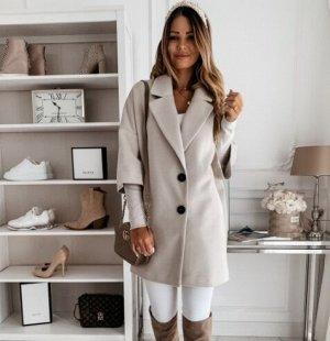 Пальто, серый