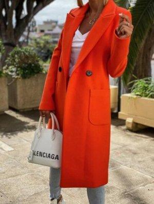 Пальто, апельсин