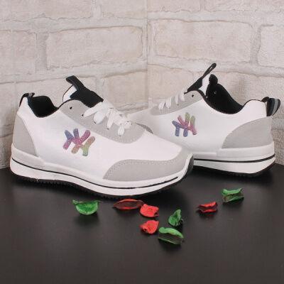 Спортивная и повседневная обувь из эко-кожи и текстиля.  — Обувь  детская — Кроссовки