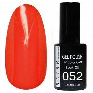 Гель-лак BLISE 052- Красно-оранжевый